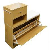3-Compartment-Shoe-Rack-oak