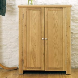 Aston Oak Shoe Cabinet