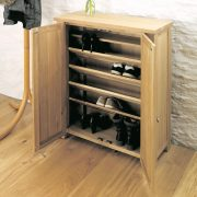 Aston-Oak-Shoe-Cabinet-open