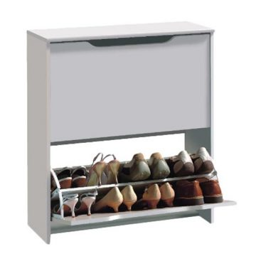 Combi 16-Pair Shoe Cabinet