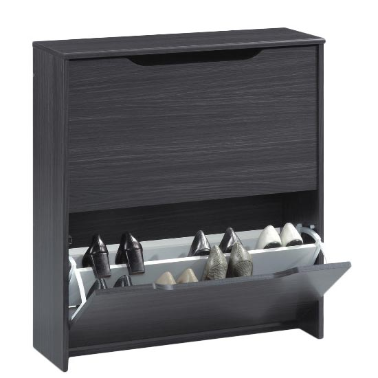 Combi 16-Pair Shoe Cupboard
