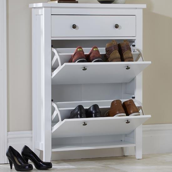 Danielle 2-Tier Shoe Cabinet