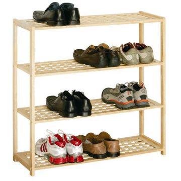 Macy 4 Tier Shoe Rack