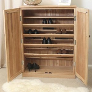 Mobel-Oak-Shoe-Cabinet